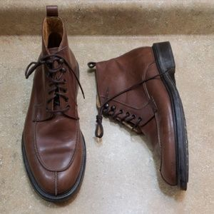 Coach Mens Forrester Brown Leather Ankle Boots 9.5
